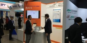 Primelite KLV booth at SEMICON Japan